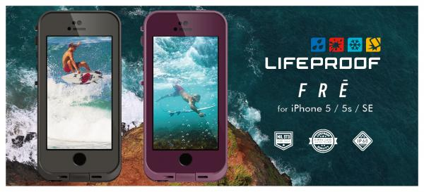 LIFEPROOF fre for iPhone SE/5s/5
